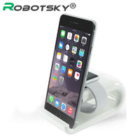 Phone Holder For iWatch iPhone 6 7 Samsung S7 S5 Huawei Mobile Phone Stand Cradle Bracket Charging Dock Station For Apple Watch