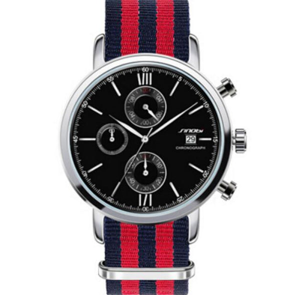 SINOBI Striped Watch