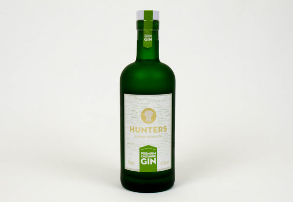 Hunters Premium Export Strength Cheshire Gin