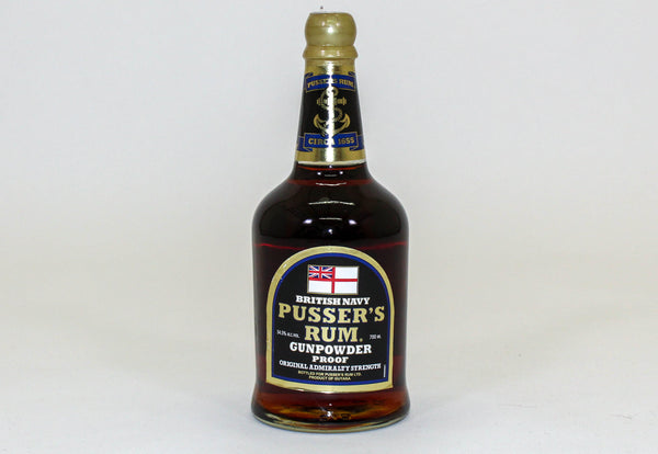 Pusser's Gunpowder Proof Rum