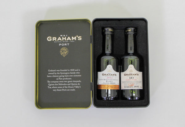Grahams Port Miniatures Gift Tin - 2 x 5cl