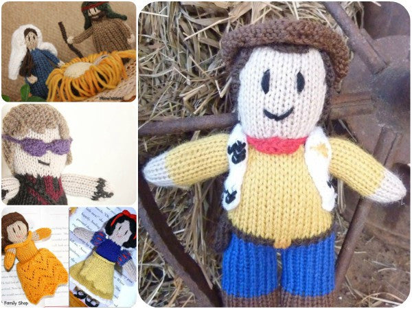 Knitted Action Figures