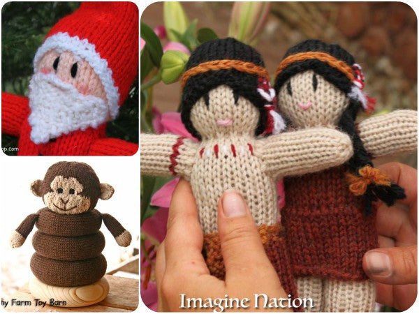 Knitted Dolls & Animals