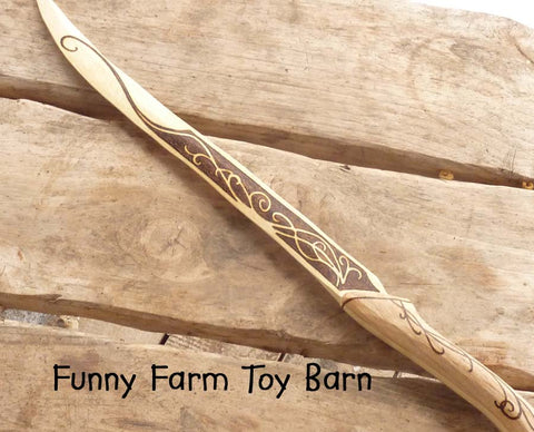 Legolas' Knife Dagger Boys Wooden Toy Replica Lord of the Rings Movie Costume Prop-thatfamilyshop.com