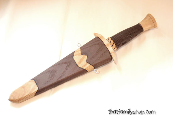 Boromir's Dagger Wood Replica LOTR Lord of the Rings Costume Accessory-thatfamilyshop.com