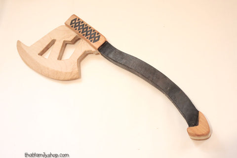 Gimli's Throwing Axe Lord of the Rings Wooden Replica Boys Toy-thatfamilyshop.com