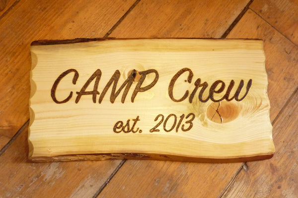 Wood Burned Custom Rustic Wedding Plaques Names Cabin Signs Personalized-thatfamilyshop.com