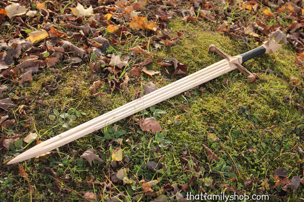 Longclaw-Inspired Sword of Jon Snow Game of Thrones GOT Wood Replica-thatfamilyshop.com