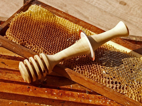 Honey Dip Hand-Turned Country Kitchen Utensil Mom's Stocking Stuffer - thatfamilyshop.com