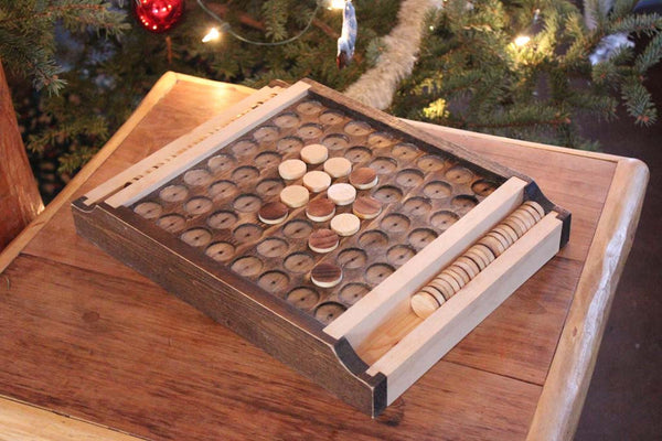 Reversi/Othello Wooden Handcrafted Beautiful Board Game - thatfamilyshop.com