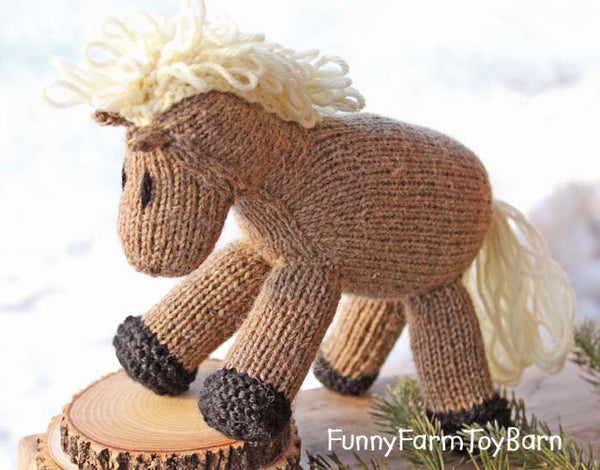 Cookies: Stuffed Animal Waldorf Pony Baby Toy Horse-thatfamilyshop.com