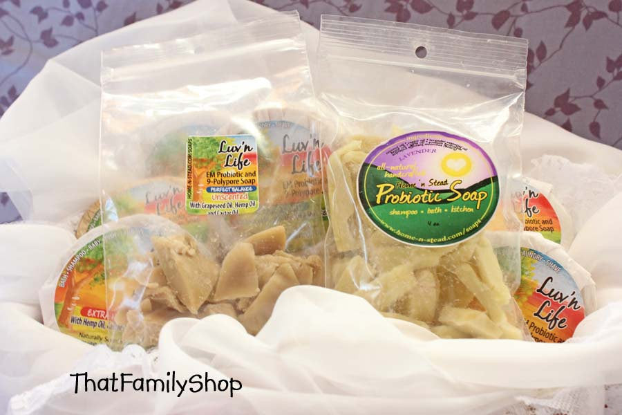 Probiotic Soap Chips for Foam Dispenser-thatfamilyshop.com