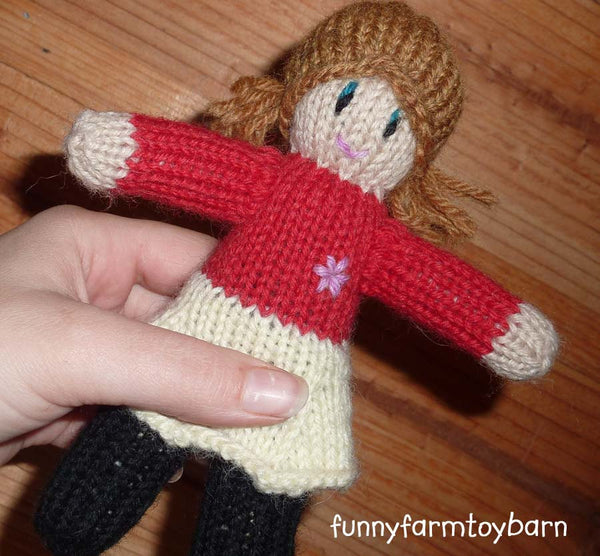 Match Me Doll Mini Me Custom Knit-thatfamilyshop.com