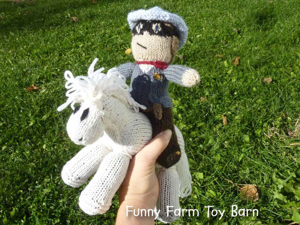 Silver and the Lone Ranger Doll and Pony Toy Set - thatfamilyshop.com