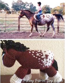 YOUR Horse as a Toy-Custom Knit Markings Colorings Stuffed Toy Custom Horse Toy Gift-thatfamilyshop.com