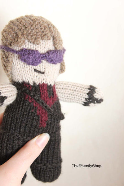Chunky Body, Boys Custom Character Doll, Super Hero, Disney Character, You Choose, Natural Wool Materials - thatfamilyshop.com