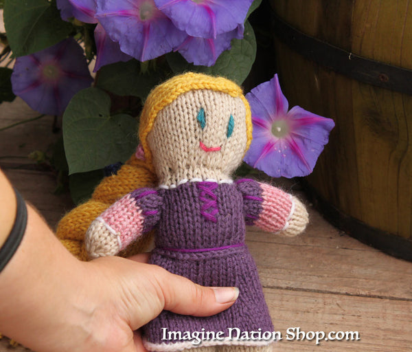 Princess Doll Rapunzel, Tangled Ready To Ship Disney Toy Inspired Natural Materials Baby Toy-thatfamilyshop.com