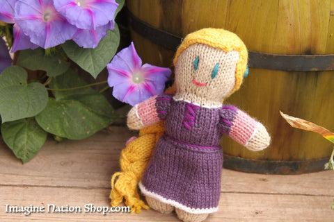 Princess Doll Rapunzel, Tangled Ready To Ship Disney Toy Inspired Natural Materials Baby Toy - thatfamilyshop.com