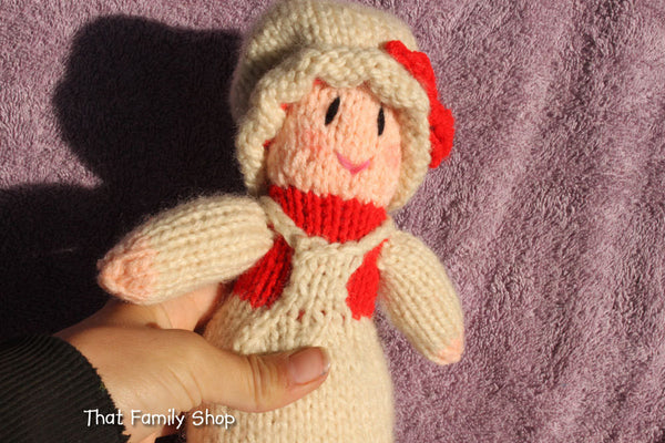 Mrs. Claus Doll Christmas Decoration / Toy, Mrs. Santa Claus Wife - thatfamilyshop.com