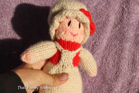 Mrs. Claus Doll Christmas Decoration / Toy, Mrs. Santa Claus Wife-thatfamilyshop.com