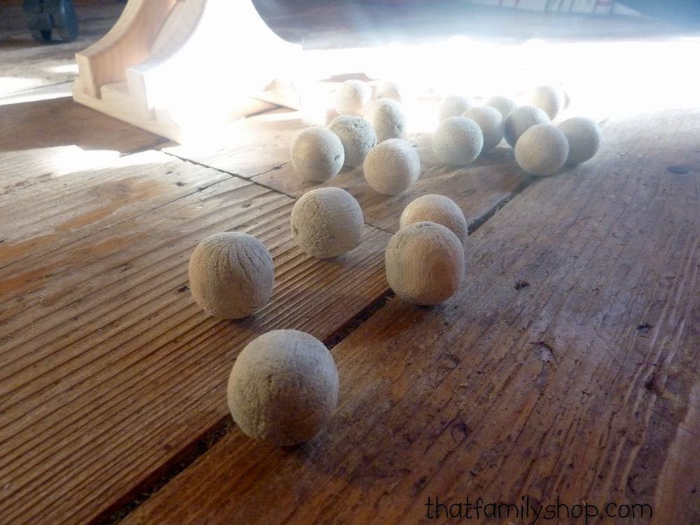 EXTRA AMMO for 'CastlePults' Catapult Game 6 Balls-thatfamilyshop.com