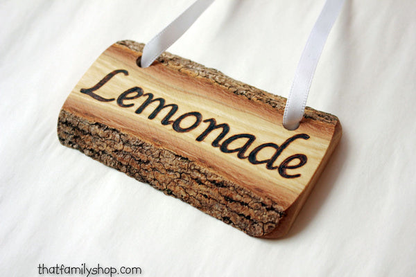 Custom Rustic Name/Placecard Tags - thatfamilyshop.com