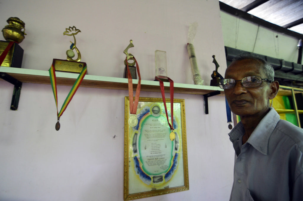 Artisan Profiles: The Grandmaster of Henavala