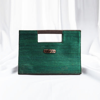 Jessica Clutch - Emerald Green