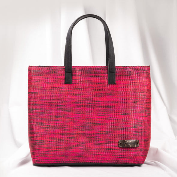 copper colour colour Kantala vegan fashion tote handbag made with sustainable vegan materials