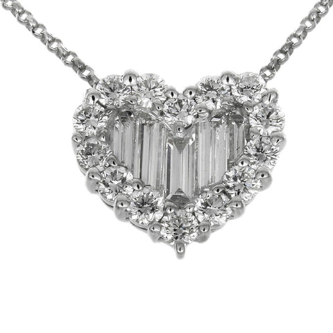 1F0011AWPDD0 18KT White Diamond Pendant