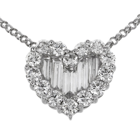 1F0149251AWPDD0 18KT White Diamond Pendant
