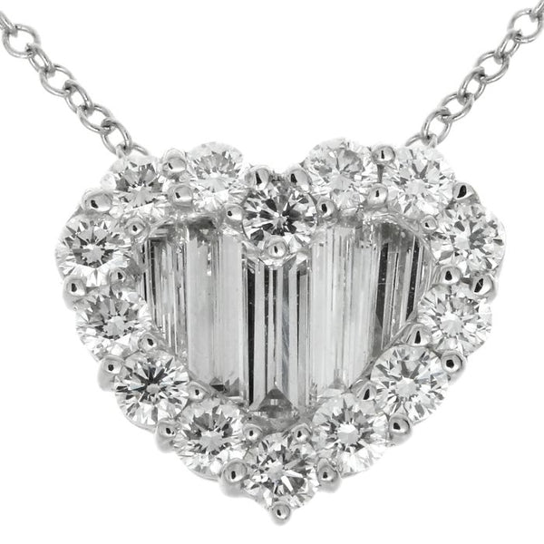 1F0154120AWPDD0 18KT White Diamond Pendant