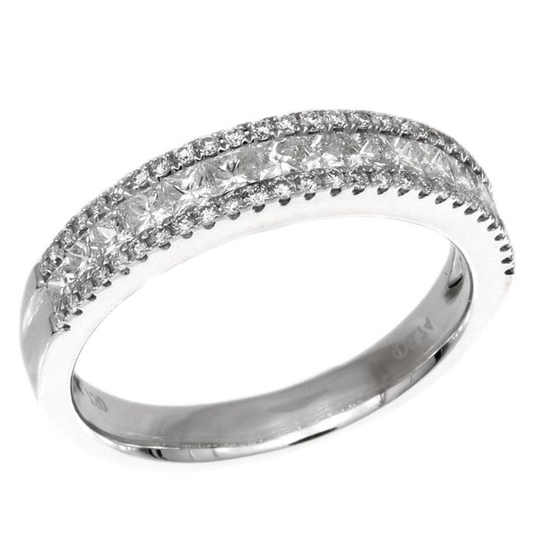 4F05824AWLRD0 18KT White Diamond Ring