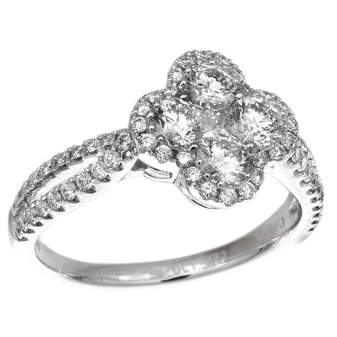 4F08982AWLRD0 18KT White Diamond Ring