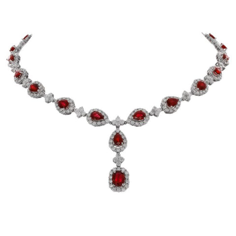 6F0274AWCHDR001 18KT Ruby Necklace