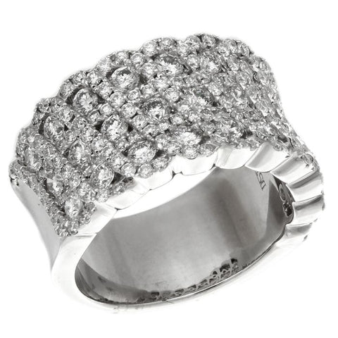 6F033725AWLRD0 18KT White Diamond Ring