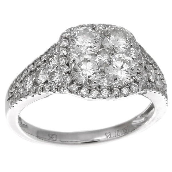 6F034476AWLRD0 18KT White Diamond Ring