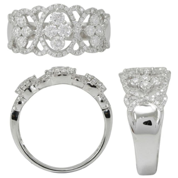 6F034493AWLRD0 18KT White Diamond Ring
