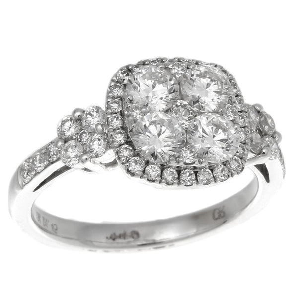 6F034515AWLRD0 18KT White Diamond Ring