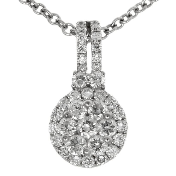6F034567AWPDD0 18KT White Diamond Pendant