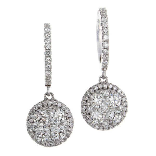 6F035989AWERD0 18KT White Diamond Earring