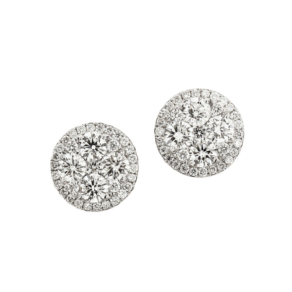 6F036237AWERD0 18KT White Diamond Earring
