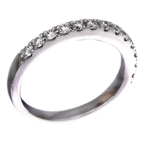 6F036678PWLRD0 PT White Diamond Band