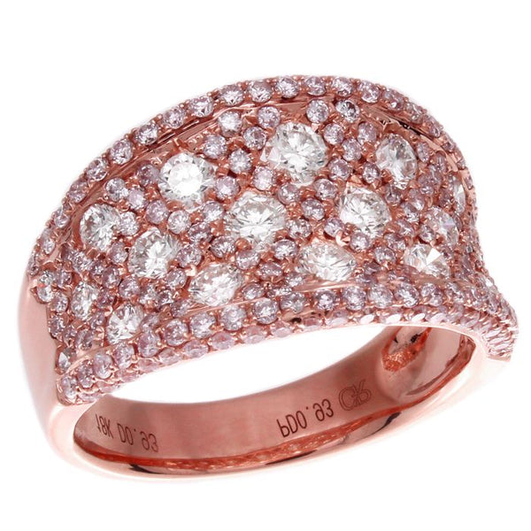 6F038996AQLRPD 18KT Pink Diamond Ring