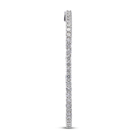 6F039767AWERD0 18KT White Diamond Earring