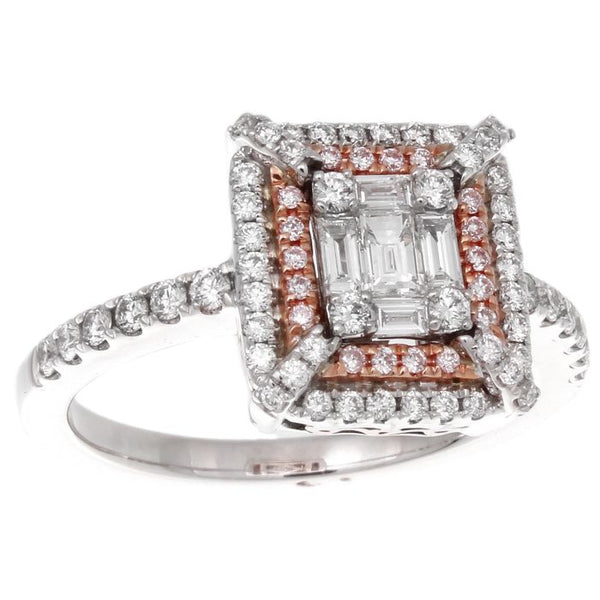 6F043888AQLRPD 18KT Pink Diamond Ring