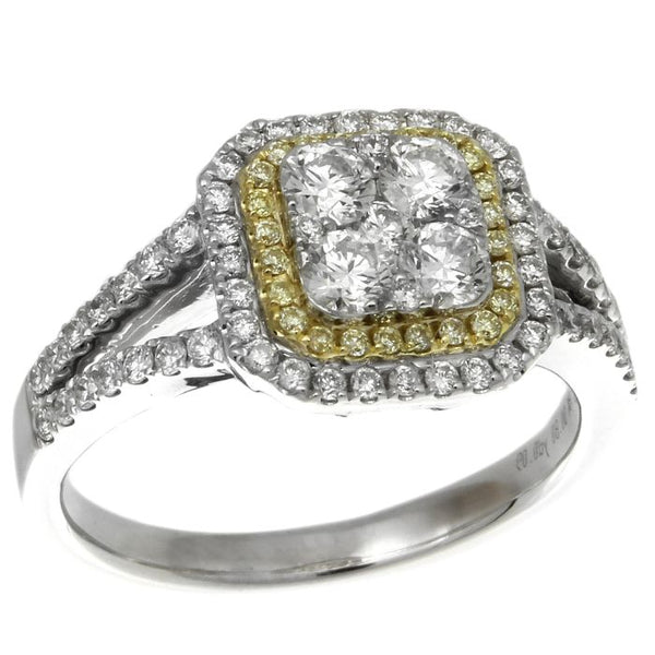 6F045164AULRYD 18KT Yellow Diamond Ring