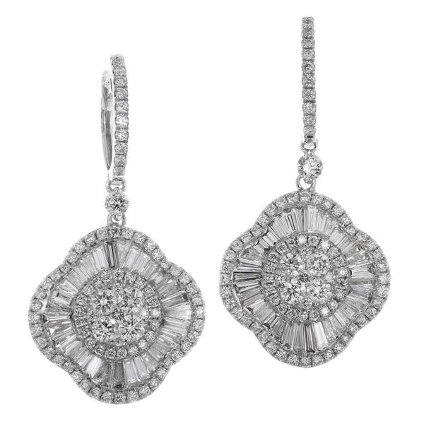 6F045167AWERD0 18KT White Diamond Earring