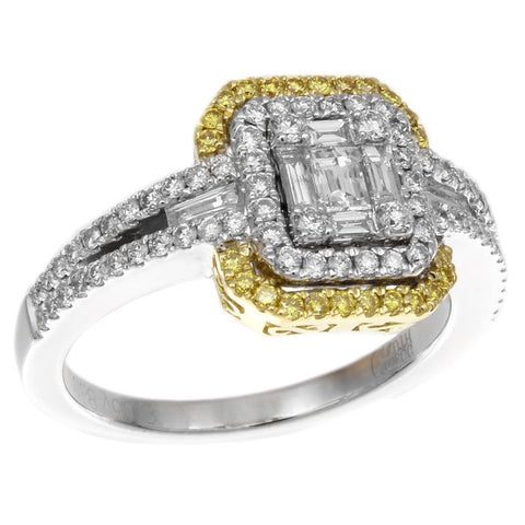 6F045568AULRYD 18KT Yellow Diamond Ring