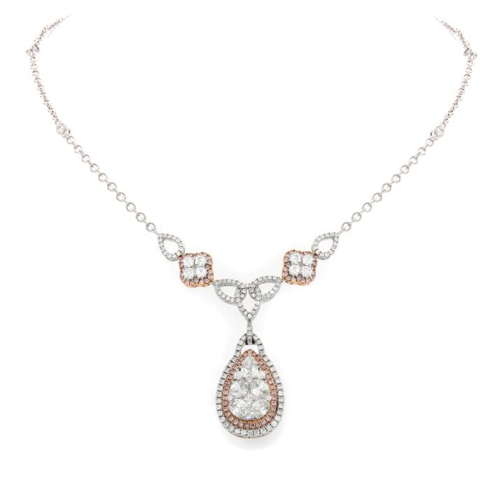 a beads including pin one carats diamond of kind diamonds recreate natural necklace it pink untreated extraordinary with composed